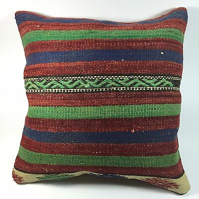 pillow cover 16 X 16 , cushion cover striped pottery barn style
