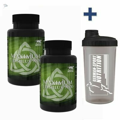 Maximum Tribulus Terrestris 6000 150 Kapseln + Mega Zink 180 - 300 Tabletten