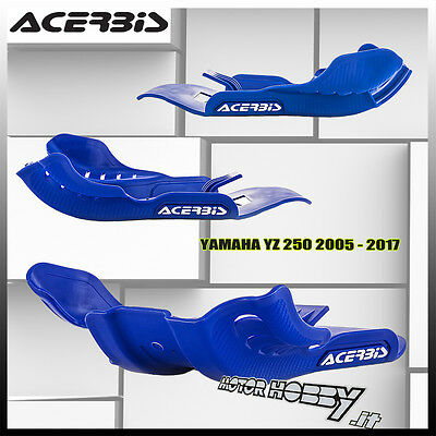 Sottomotore Acerbis Skid Plate Yamaha Yz 250 2005 - 2017 Colore Blu