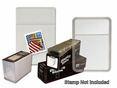 BCW - Display Slab with Foam Insert-Combo, Stamp/Blank - White (25 pack)