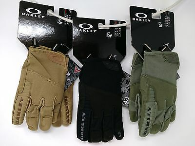 Oakley Factory Lite Tactical Glove 94258 Worn Olive, Jet Black, Coyote All Sizes