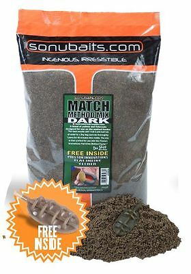 Sonubaits Method Mix Dark 2Kg