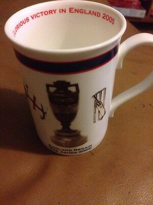 "Vintage Aynsley ""England Regain The Ashes 2005""  Mug"