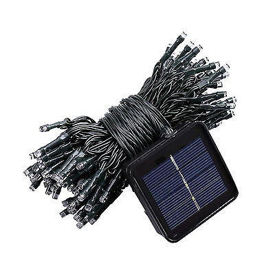G517 33FT 10m 50 LED Solar Powered Fairy String Lights Waterproof for Outdoor, G