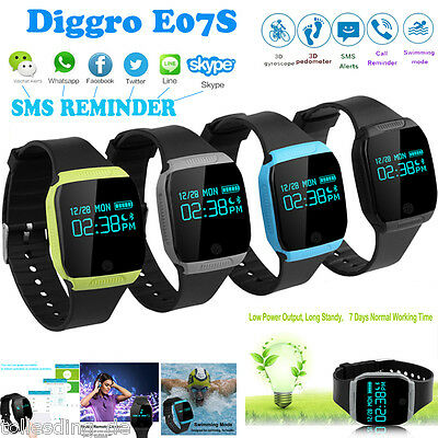 Bluetooth Smart Bracelet Watch OLED Waterproof Activity Fitness Tracker Swimming