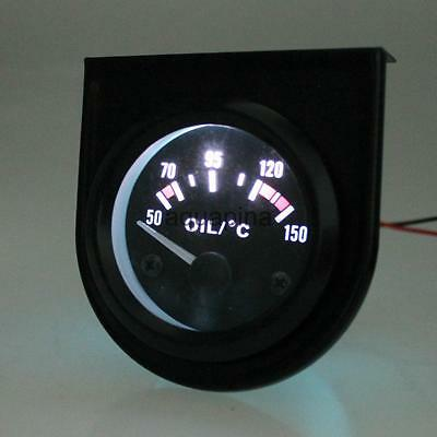 Universal Electric Digital Oil Temperature Gauge Indicator Car Motorcycle