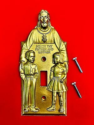 JESUS Light Switch Cover (GOLD VERSION) - Novelty