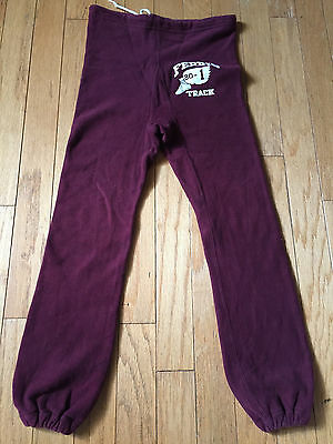 RARE VINTAGE 1960's CHAMPION SINGLE COLOR TAG SWEATPANTS MEN'S SIZE SMALL!