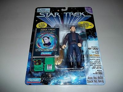 """1996 Star Trek Ds9 Playmates 5"""" Security Chief Odo Figure From Necessary Evil"""
