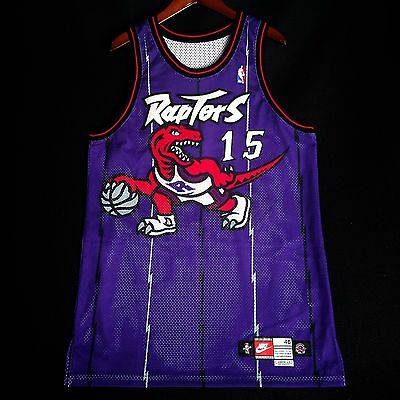 100% Authentic Vince Carter Nike 98 99 Game Issued Raptors Jersey