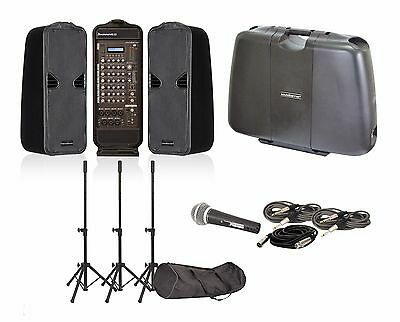 Sound Barrier JOURNEY 4.0  4 Channel, 500W Portable PA System, USB/SD & Effects