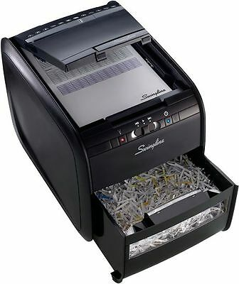 Swingline Stack-and-Shred 60X Auto Feed Shredder - Refurbished - Personal