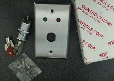 Alarm Controls Corp. Red / Green Light Arm / Disarm Indicator