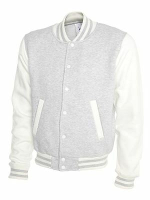 Jacket By Uneek Unisex Colour Grey/White ( Sizes S )