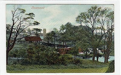 ROSEMOUNT near COCKBURNSPATH: Berwickshire postcard (C25583)