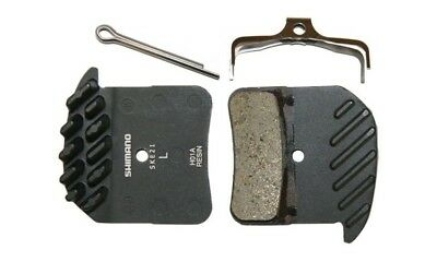 Shimano BR-M820 Disc Brake Pads Resin Pad(H01A) Ice Tech Spring for Saint/Zee -