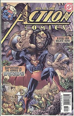 Action Comics #814 / SIGNED BY CHUCK AUSTEN / DF COA 606 OF 1000