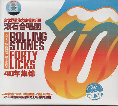Rolling Stones Forty Licks (2 cds)