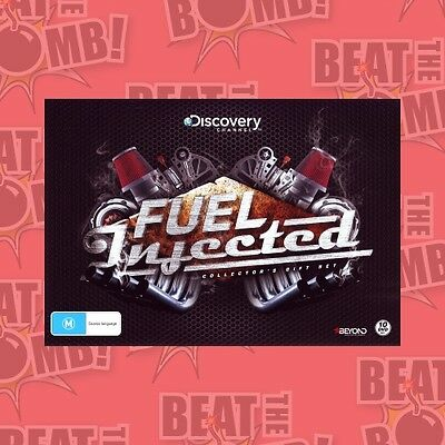 Fuel Injected (American Chopper/Fast N' Loud/Jesse James/ . - DVD - NEW Region 4