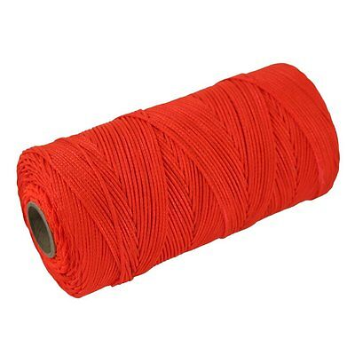SGT KNOTS Braided Nylon Mason Line #18 - 250, 500, or 1,000 feet Florescent -