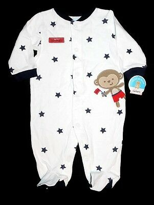 """NWT Carter's 0-3 Month """"My First 4th Of July"""" Sleeper"""