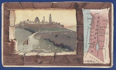 Antique Victorian Trade Card: Palestine No.56 Arbuckle Bros, Coffee Co. 1889