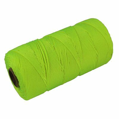 SGT KNOTS Twisted Nylon Mason Line #18 - 275, 550, or 1,100 feet Florescent -