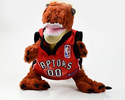 Build A Bear Workshop BABW NBA Toronto Raptors Dinosaur with Jersey Plush Roars