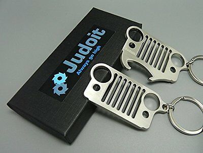 Couple Premium Jeep Grill KeyChain and Bottle Opener Key Chain, Perfect Design &