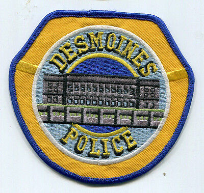 Des Moines Iowa Police Patch // USED