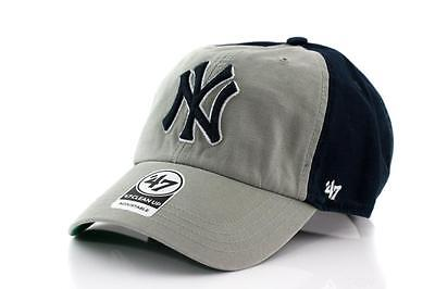 NY Yankees MLB Supporters Hat Clean Up Cap - 47 Brand New York Baseball Cap