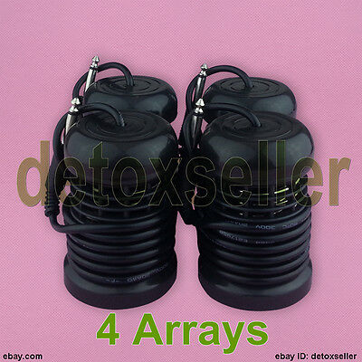 New 4 Array Arrays For Ionic Ion Detox Foot Bath Spa Aqua Cell Cleanse Machine