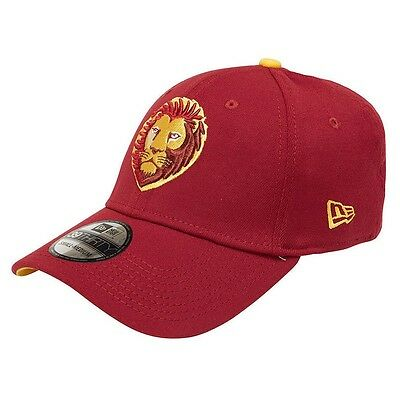 New Era BRISBANE LIONS 39THIRTY HOME CAP*USA Brand-Size S To M,M To L Or L To XL