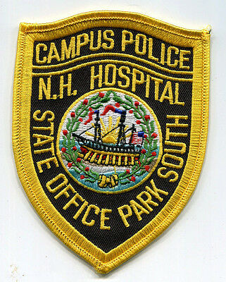 New Hampshire Hospital State Office Park South Campus Police Patch