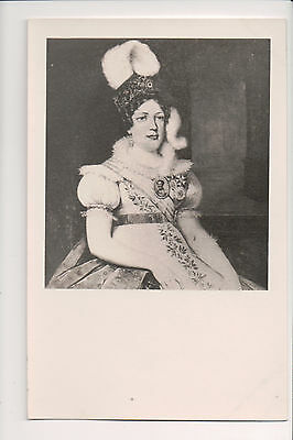 Photo Card Désirée Clary Queen of Sweden and Norway