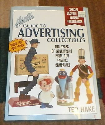 Book Hakes Guide To Advertising Collectibles 1992