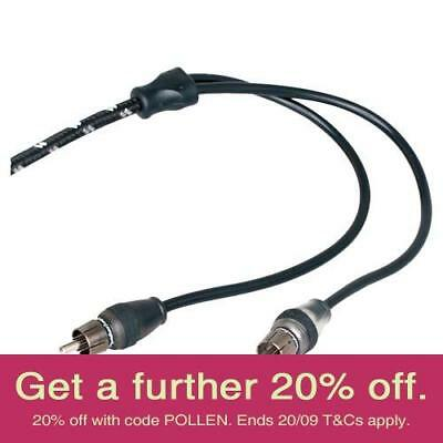 Rockford Fosgate RFIT-10 3m Premium RCA Cable with AUST LOCAL WARRANTY