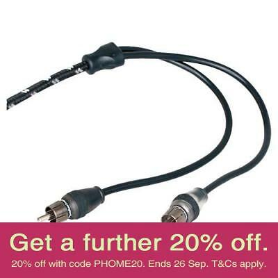 Rockford Fosgate RFIT-16 5m Premium RCA Cable with AUST LOCAL WARRANTY