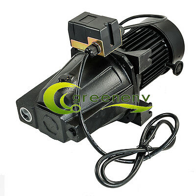 1/2 HP Shallow Well Jet Pump w/ Pressure Switch ,12.5 GPM,115/230V Dual Voltage