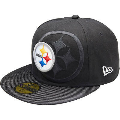 New Era PITTSBURGH STEELERS 59FIFTY SIDELINE CAP*USA Brand-Size 7 1/4,3/8 Or 1/2