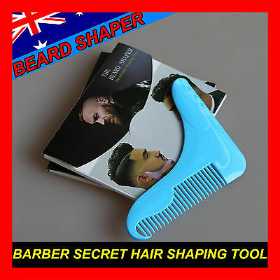 Beard Shaper Guide Shaving Trimming Template styling shaping tool comb Barber