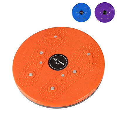 Body Twister Boards Waist Wriggling Plate Aerobic Exercsie Reflexology Magnets
