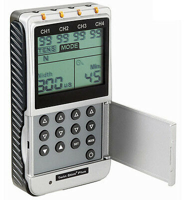 Current Solutions DS5002 Twin Stim Plus 4 Channel Digital TENS and EMS unit