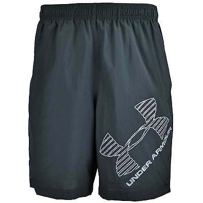 Under Armour Graphic Woven Shorts - Black