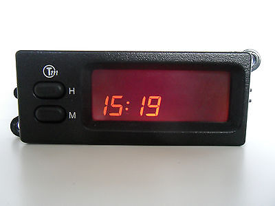 Refurbished Pektron Trafficmaster LCD Clock Rover MG Land Rover Freelander