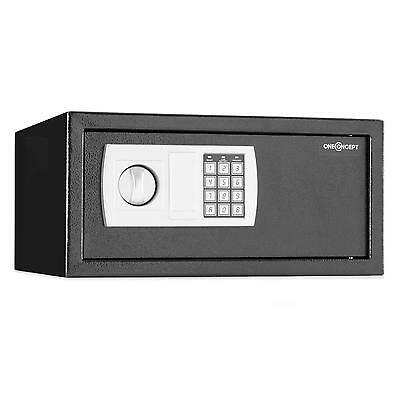 "Electronic Safe 8 Digit Keypad Lock Laptop 15"" Box Steel Security Keys Jewellery"