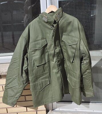 M65 Field Jacket OD Green Size Men's XL Extra Large Regular with Liner New