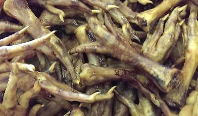100% Natural Chicken Feet Natural Treat for Dogs  Dog Food Treats