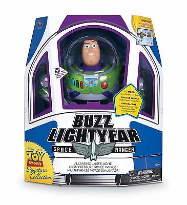 Official Toy Story Signature Collection Buzz Lightyear Doll-Free & Fast Delivery