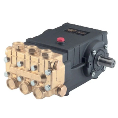 General Pump TSS1511 Pump, Triplex, 4GPM@3500PSI, 1450 RPM, 24mm Solid Shaft